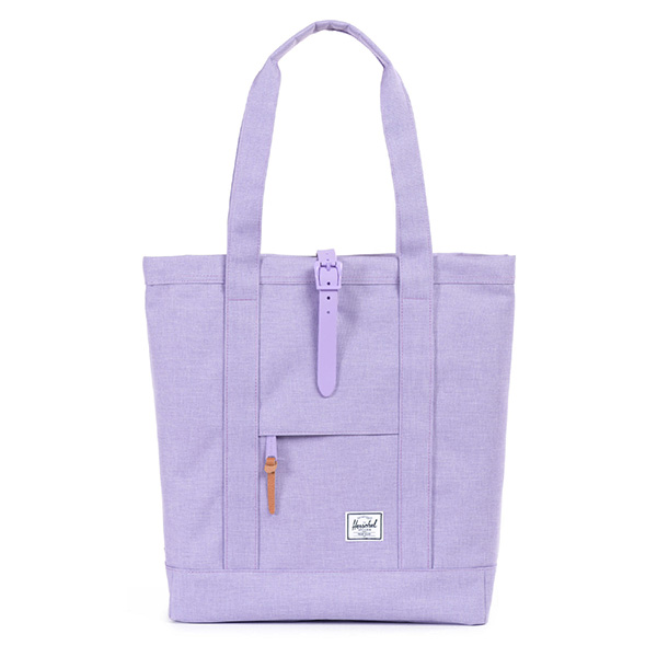 【EST】HERSCHEL MARKET 磁扣帶 托特包 購物袋 側背包 肩背包 亮紫 [HS-0029-707] G0706