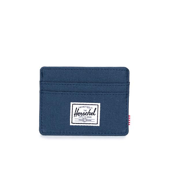 ★整點特賣限時5折★【EST】Herschel Charlie 橫式 卡夾 名片夾 證件套 藍 [HS-0045-007] G0122【12/06憑優惠券代碼 SS_20161206。滿888再折100】