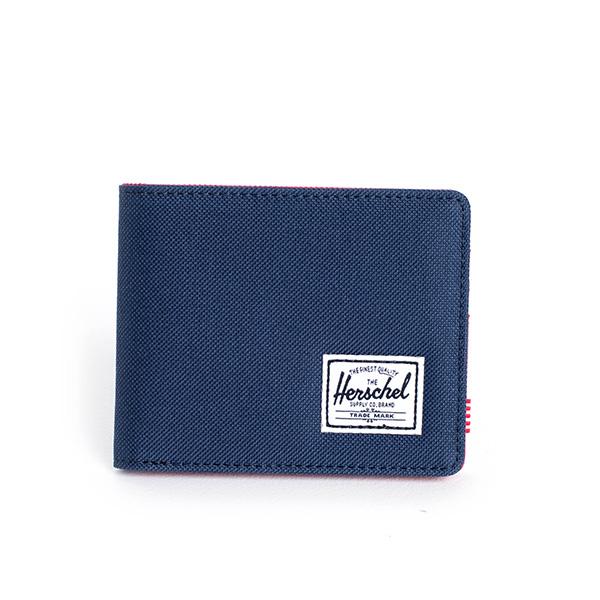 【EST】HERSCHEL ROY WALLET 短夾 皮夾 錢包 藍紅 [HS-0069-018] G0414