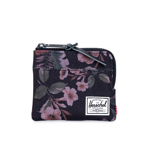 【EST】HERSCHEL JOHNNY WALLET 小皮夾 零錢包 花卉 [HS-0094-910] G0122