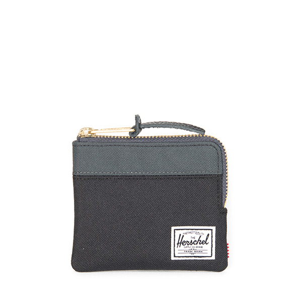 【EST】Herschel Johnny Wallet 小皮夾 零錢包 黑/深灰 [HS-0094-930] H0112