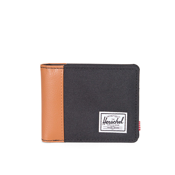 【EST】Herschel Edward Wallet 皮夾 短夾 錢包 黑 [HS-0133-001] H0112