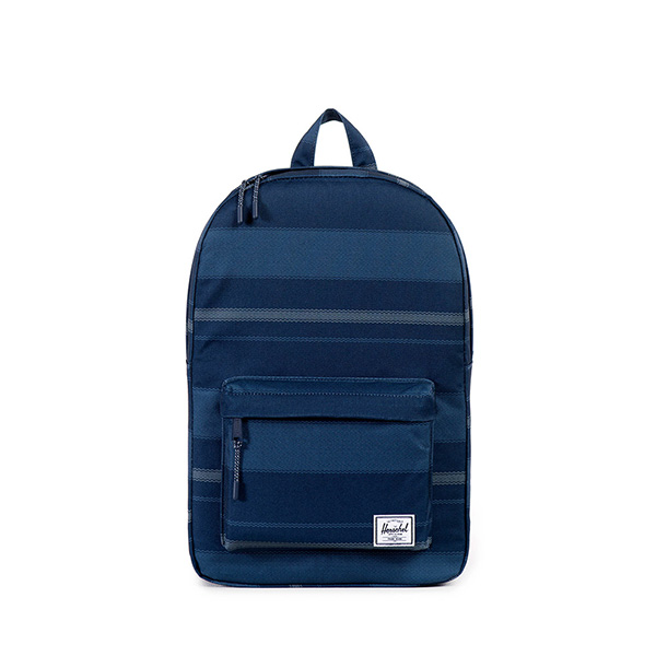 【EST】HERSCHEL CLASSIC MID 中款 後背包 深條紋 藍 [HS-0135-925] G0122