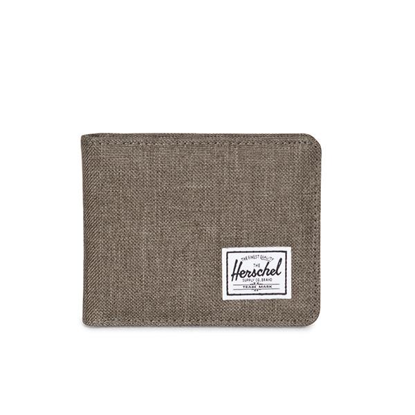 【EST】Herschel Roy Coin Wallet 短夾 皮夾 零錢包 麻灰 [HS-0151-C47] G1012