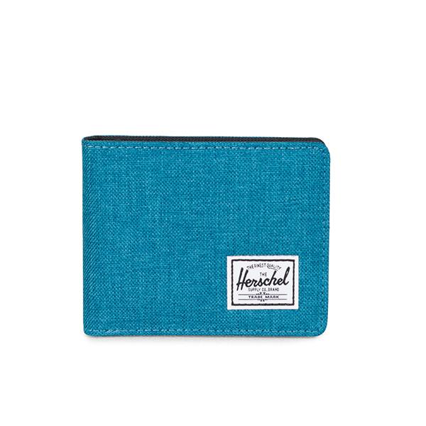 【EST】Herschel Roy Coin Wallet 短夾 皮夾 零錢包 水藍 [HS-0151-C60] G1012