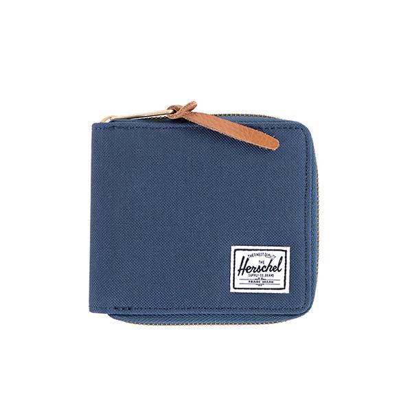 【EST】Herschel Walt Wallet 拉鍊 短夾 皮夾 零錢包 藍紅 [HS-0153-018] G0122