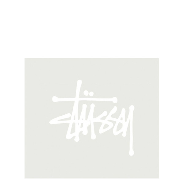 【EST】STUSSY 137002 REGULAR STOCK 貼紙 白字 小 [ST-5275-001] G0428