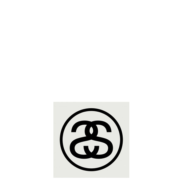 【EST】STUSSY 137370 SS LINK 貼紙 黑字 小 [ST-5279-002] G0428
