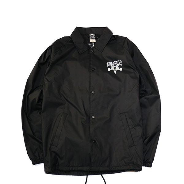 【EST】Thrasher Flame Coach Jacket 五角 羊頭 火焰 外套 [TH-0014-002] H0105
