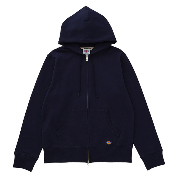 【EST O】Dickies Logo Hoodie 小布標連帽外套 藍 H0111