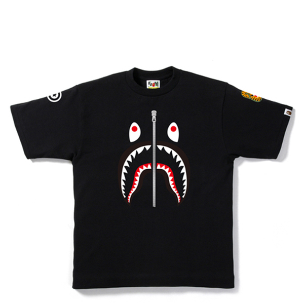 【EST O】A Bathing Ape Shark 鯊魚短tee #2 黑 G0908