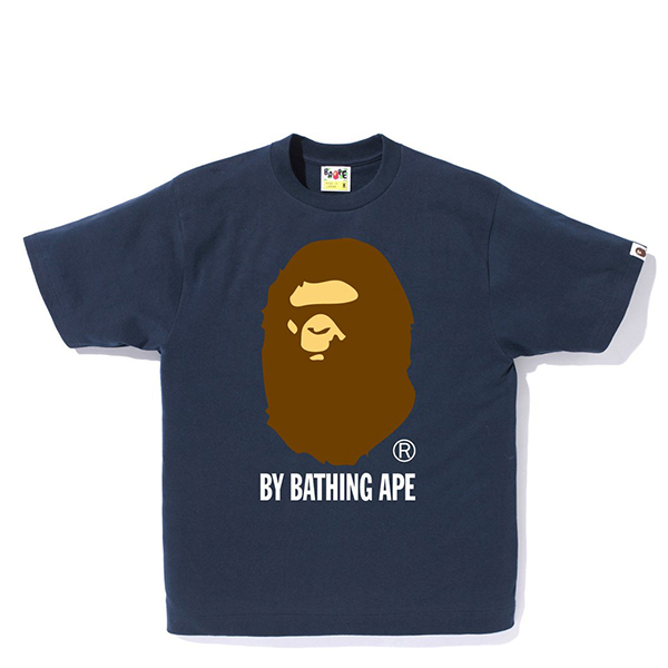 【EST O】A Bathing Ape Pigment By Bathing 短 Tee 藍 G0908