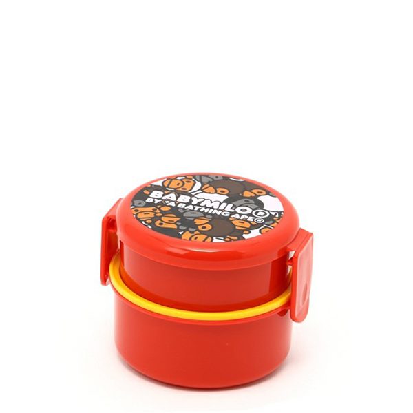 【EST O】A Bathing Ape All Baby Milo Mix Round Lunch Box 便當盒 G0908
