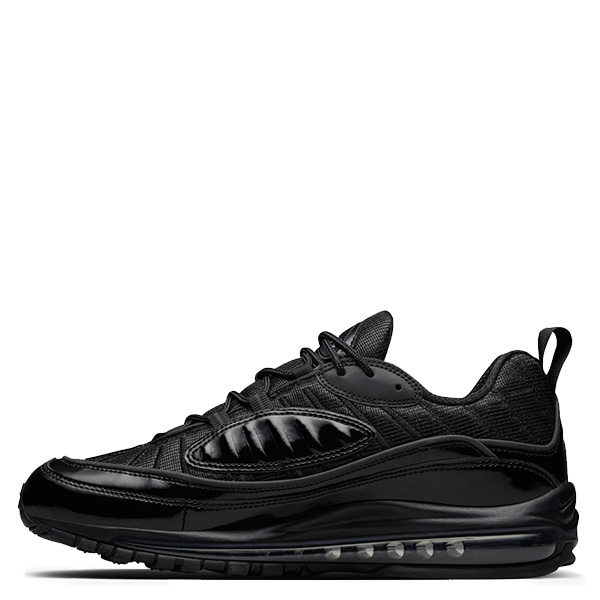 【EST O】Nike Air Max 98 X Supreme 844694-001 聯名款 氣墊 慢跑鞋 男女鞋 黑 G0615