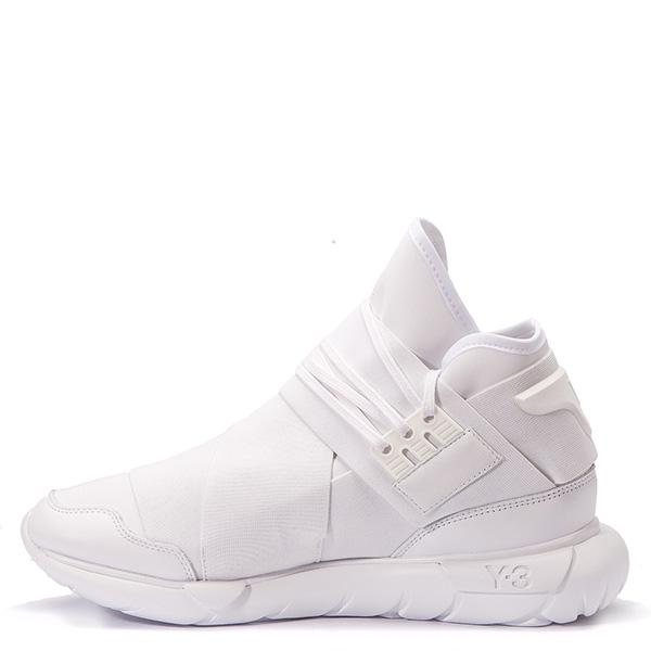 【EST O】Adidas Y-3 Qasa High Aq5500 山本耀司 忍者鞋 男鞋 白 G0317