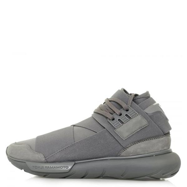 【EST O】Adidas Y-3 Qasa High Bb4734 山本耀司 忍者鞋 男鞋 灰 G0822