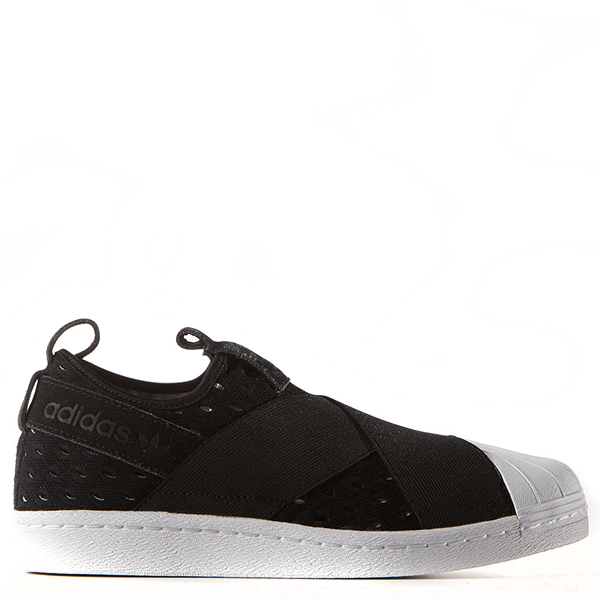 【EST O】Adidas Originals Superstar Slip On S74986 繃帶鞋 黑白 G0905