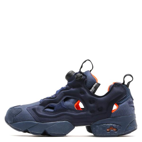 【EST O】Reebok Insta Pump Fury Tech V63499 防彈布 慢跑鞋 男女鞋 深藍 G0223