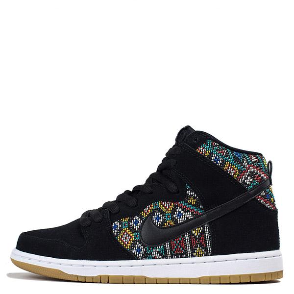 【EST S】Nike Dunk High Premium Sb 313171 030 黑民俗圖騰麂皮滑板鞋 男鞋 G1012