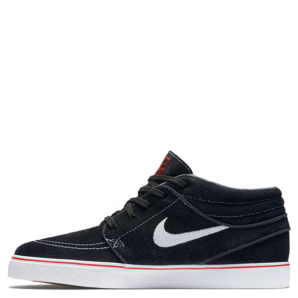 【EST S】Nike Zoom Stefan Janoski 443095-017 中筒 紅線 休閒鞋 男女鞋 黑 G1011