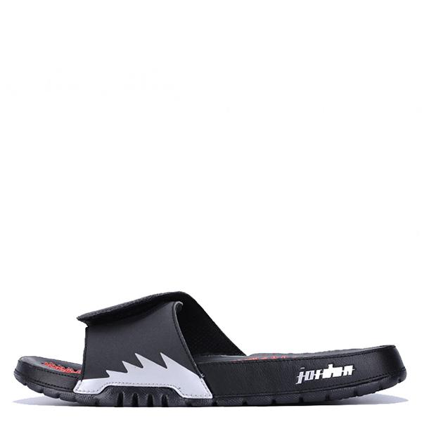 【EST S】Nike Jordan Hydro V Retro Aj5 555501-012 黑紅銀運動拖鞋 男鞋 G1012