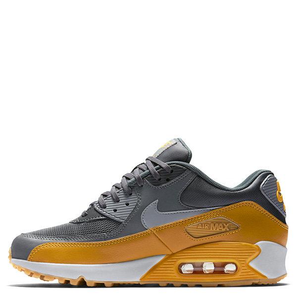 【EST S】Nike Air Max 90 Essential 616730-027 慢跑鞋 女鞋 灰黃 G1011