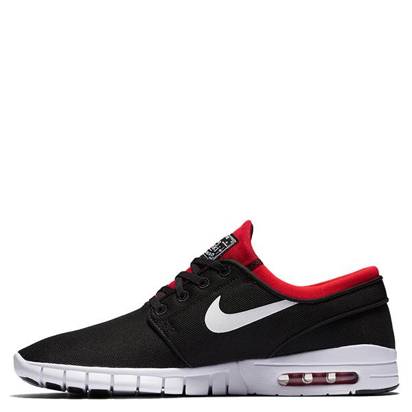 【EST】NIKE STEFAN JANOSKI MAX SB 631303-016 氣墊 休閒 滑板鞋 男鞋 黑紅 [NI-4412-002] G0623