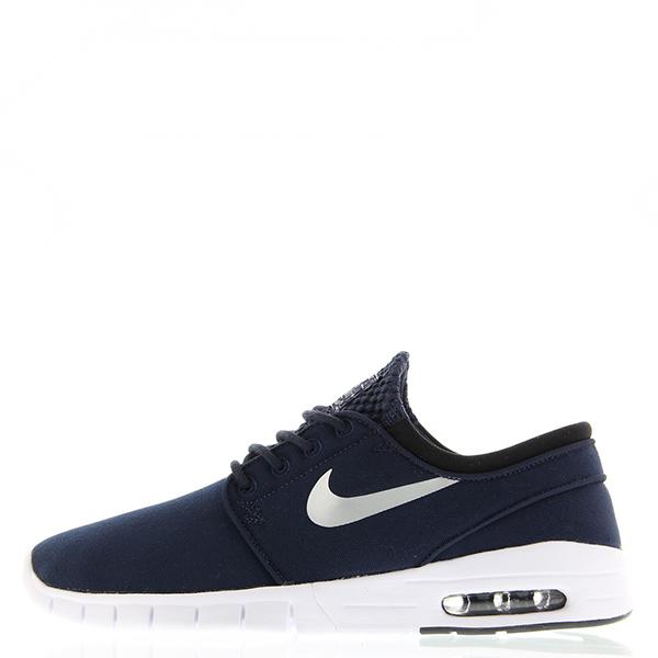 【EST S】Nike Stefan Janoski Max 631303-400 白深藍氣墊編織 男鞋 G1012