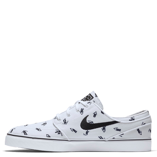 【EST S】Nike Zoom Stefan Janoski Cnvs Prm 705190-101 休閒 滑板鞋 男鞋 白 G1011