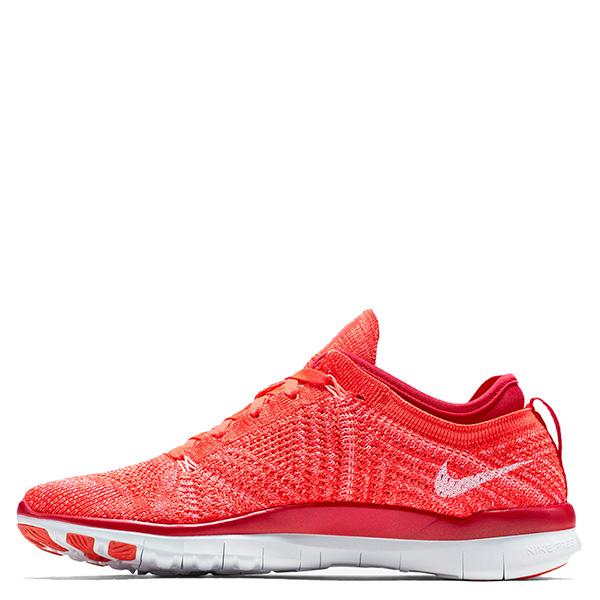 【EST S】Nike Free 5.0 Tr Flyknit 718785-601 赤足 編織 訓練 慢跑鞋 女鞋 橘 G1011