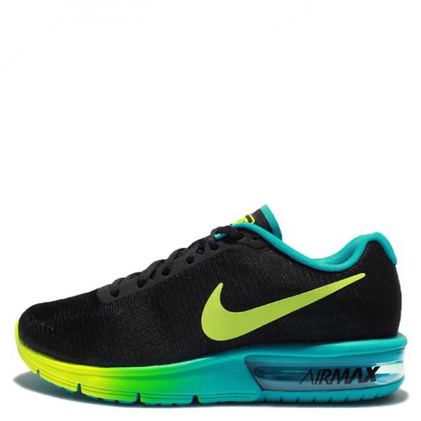 【EST S】Nike Air Max Sequent 719916-013 黑黃綠漸層大氣墊 女鞋 G1012