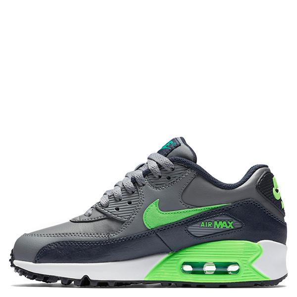 【EST S】Nike Air Max 90 Ltr Gs 724821-013 氣墊 慢跑鞋 大童鞋 灰 G1011