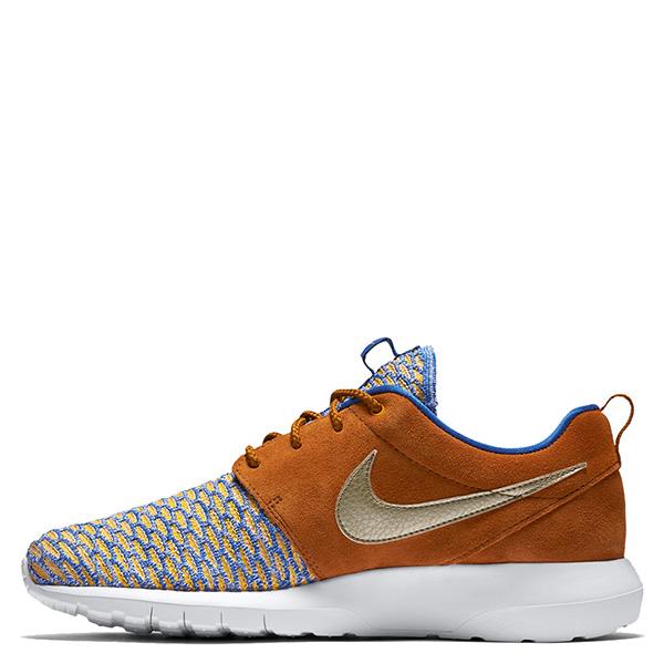 【EST S】Nike Roshe Nm Flyknit Prm 746825-402 皮革 編織 慢跑鞋 男鞋 卡其 G1011