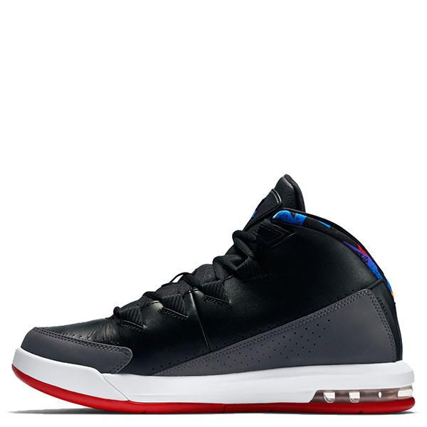 【EST S】Nike Jordan Air Deluxe 807717-035 皮革 氣墊 籃球鞋 男鞋 黑灰 G1011