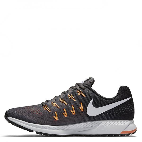 【EST S】Nike Air Zoom Pegasus 33 831352-003 飛線慢跑鞋 黑灰橘 G1111