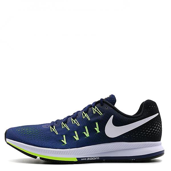 【EST S】Nike Air Zoom Pegasus 33 831352-402 飛線慢跑鞋 反光 藍黑 G1111