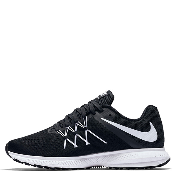 【EST S】Nike Zoom Winflo 3 831561-001 輕量 飛線 慢跑鞋 男鞋 黑 G1011