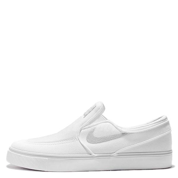 【EST S】Nike Sb Zoom Stefan Janoski 831749-100 滑板鞋 懶人鞋 全白 G1111