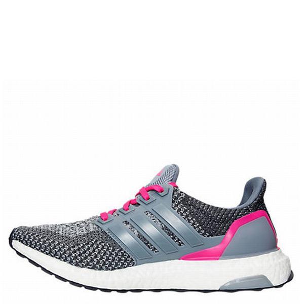 【EST S】Adidas Ultra Boost AQ5936 編織 慢跑鞋 灰粉 女鞋 G1117