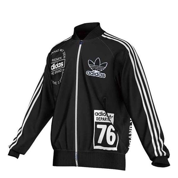 【EST S】Adidas Originals Track AY8624 棒球外套 男款 黑白 G1205
