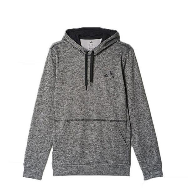 【EST S】Adidas Tiflc Po Climawarm AY9549 刷毛 連帽 帽TEE 灰  G1216