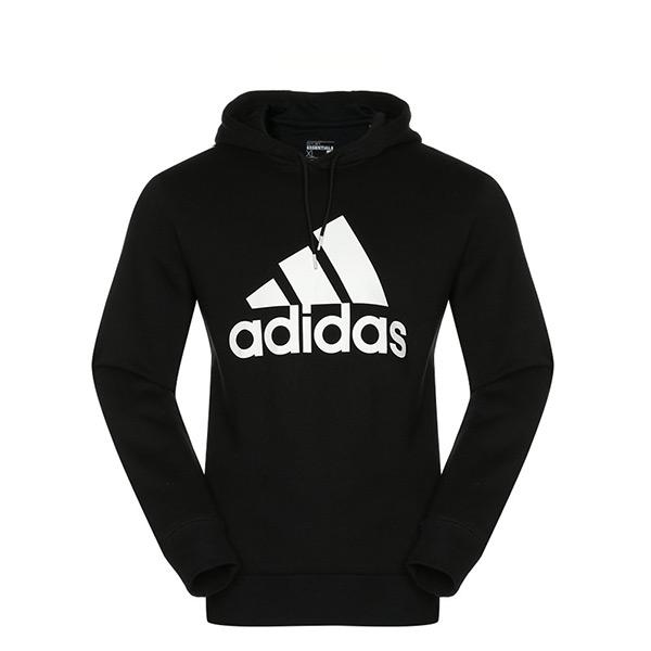 【EST S】Adidas Sports Logo Hoodie S21336 連帽 帽tee 黑白 G1124