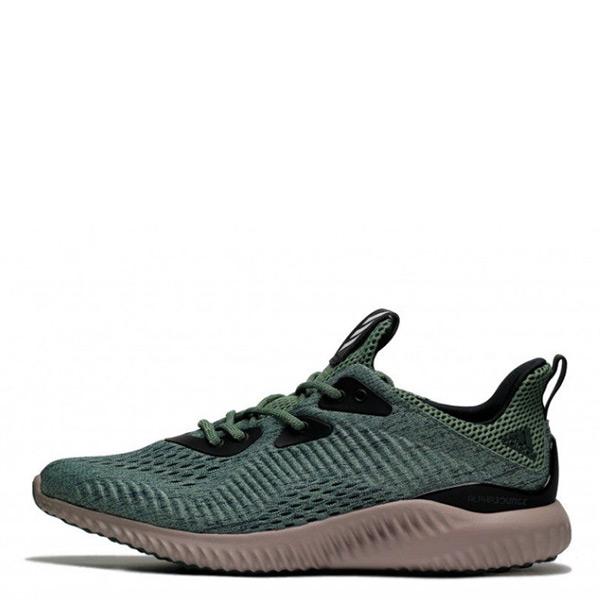 【EST S】Adidas Alphabounce EM BB9042 編織 襪套 慢跑鞋 綠 男鞋 H0112