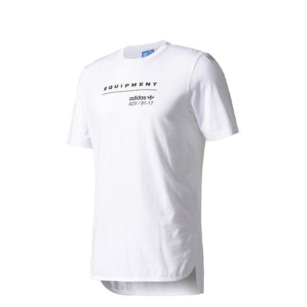 【EST S】Adidas EQT Logo Tee BK7171 棉質 運動 短Tee 白 H0118