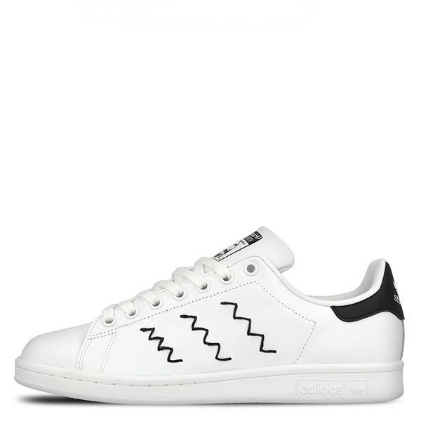 【EST S】Adidas Originals Stan Smith AQ3090 白黑斜線老人頭 G1021