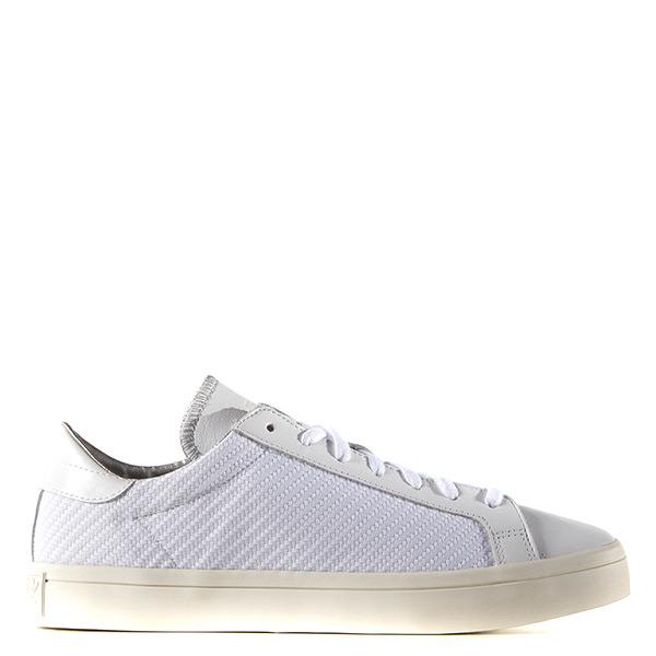 【EST S】Adidas Court Vantage AQ5463 低筒編織休閒鞋 全白 G1021