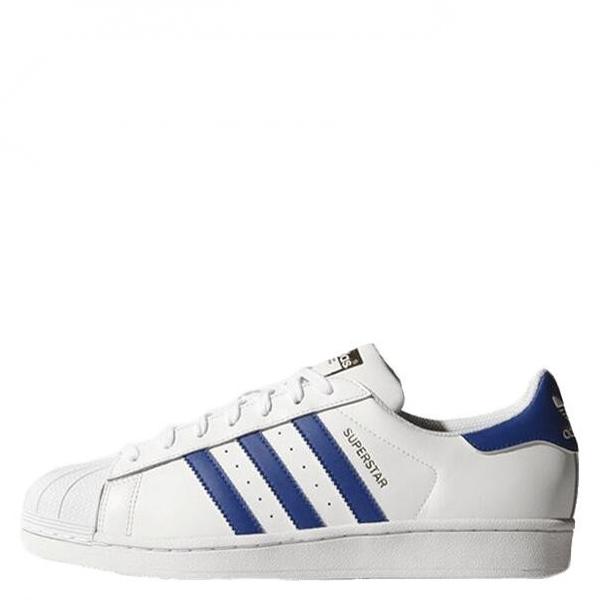 【EST S】Adidas Originals Superstar B27141 藍白金標 貝殼頭 G1111