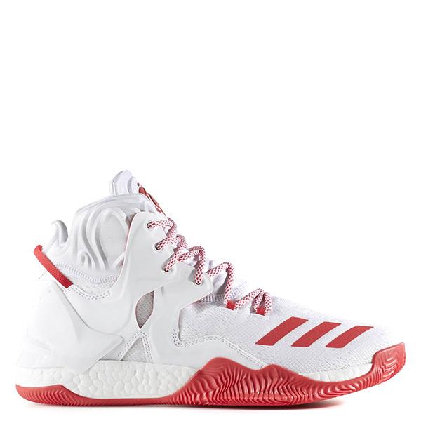 【EST S】Adidas D Rose 7 Boost B54132 白紅 玫瑰 高筒 籃球鞋 G1104