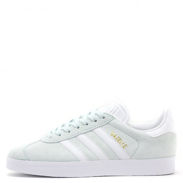 【EST S】Adidas Originals Gazelle BA9599 淺綠白 水原希子 G1104