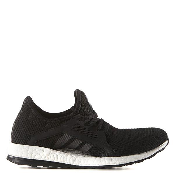 【EST S】Adidas Pure Boost X BB4967 軟底網布透氣慢跑鞋 黑白 G1104